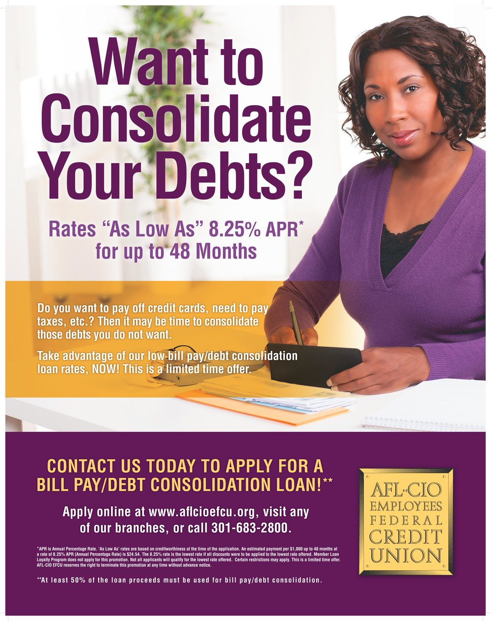 Want to Consolidate Your Debts?