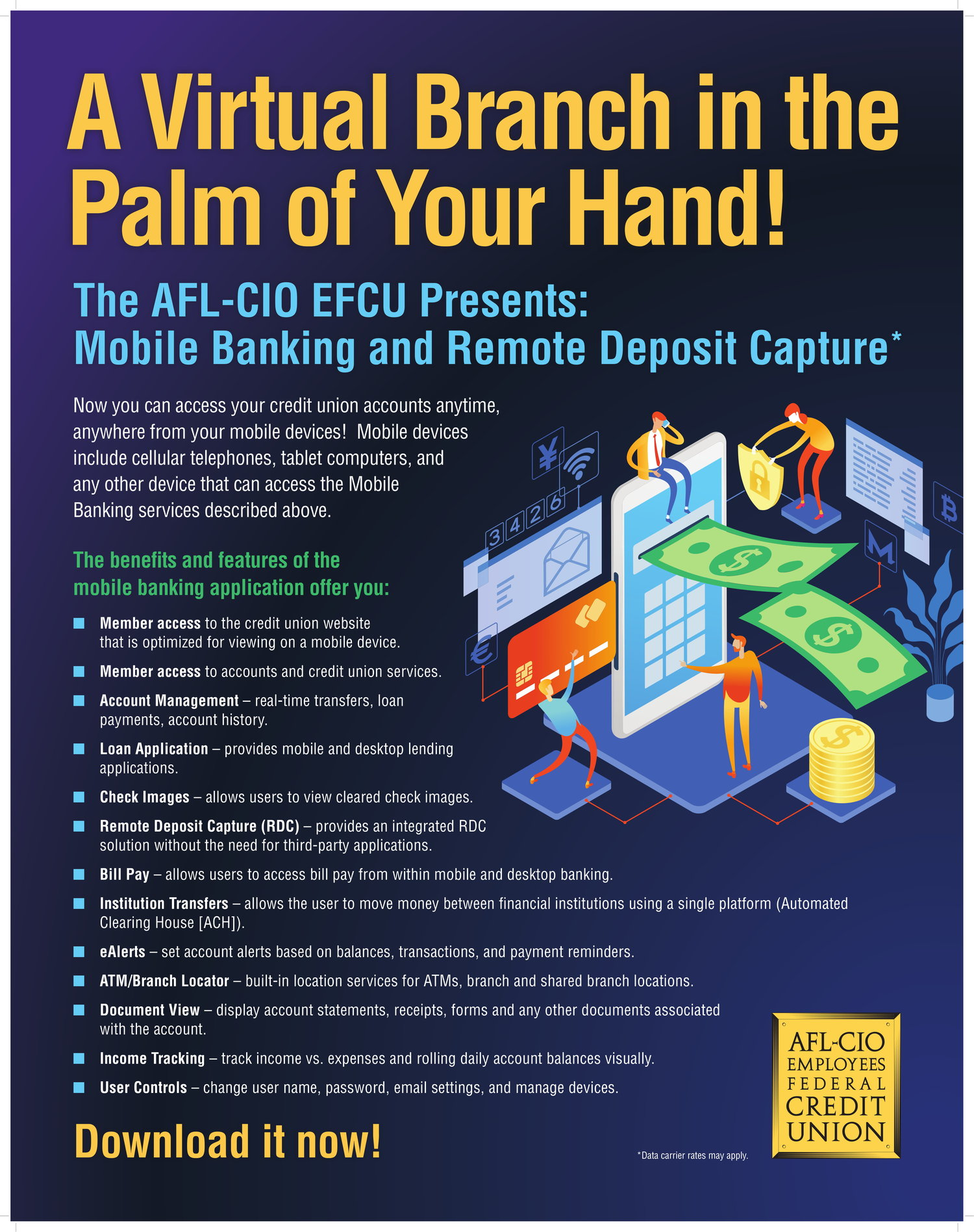 The AFL-CIO EFCU Presents: Mobile Banking and Remote Deposit Capture