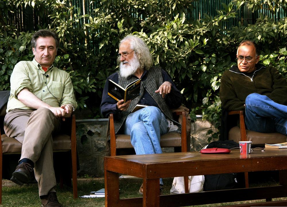 George Szirtes, Arvind Krishna Mehrotra, Allan Sealy (2006)