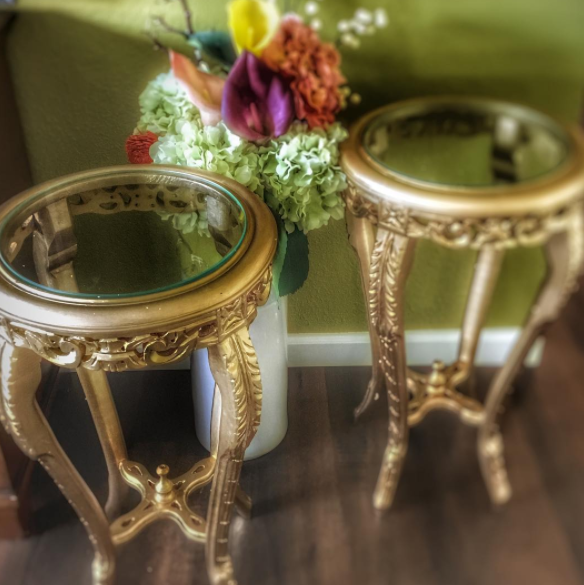 Victorian End Tables -