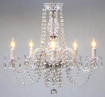 100% Crystal Chandeliers -