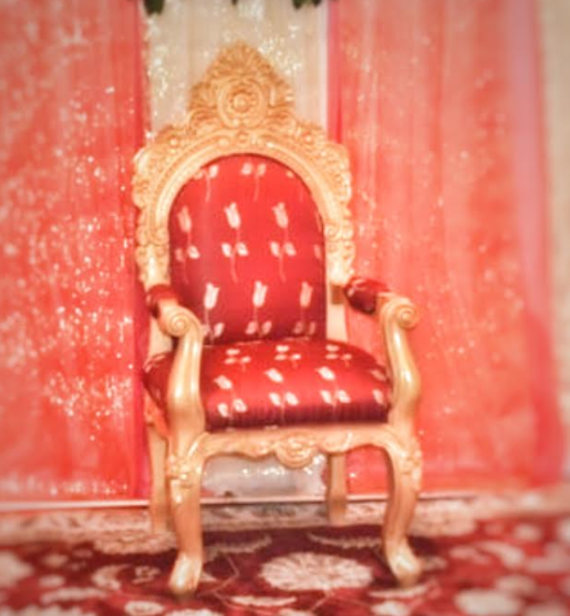 Ornate Throne Chairs -