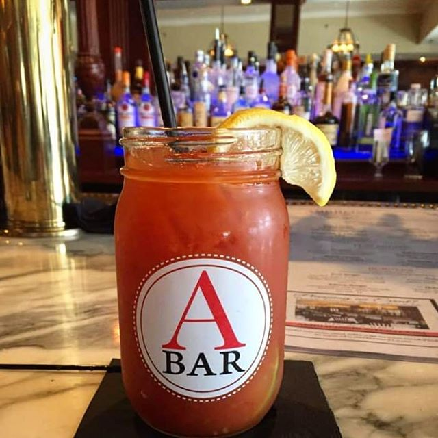 In case you needed a sign, here it is.... It's Friday, come visit us at the A bar.