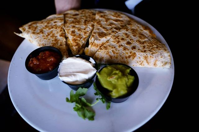 Cinco de mayo might be over, but we have quesadillas for days! Ph: @ebitphotos