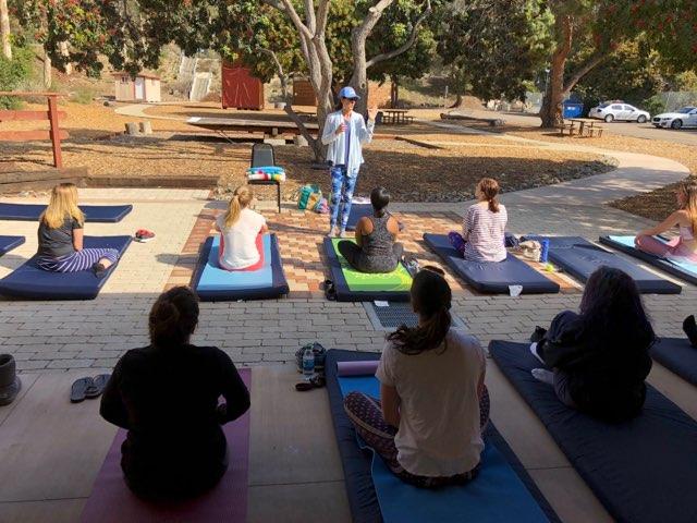 Restorative, healing yoga with Christiana Donovan
