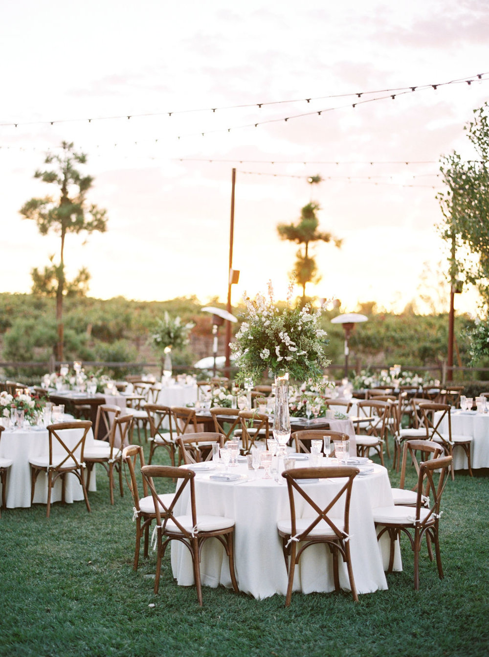 Style me pretty - A Heartwarming Wine-Toned Wedding at Lorimar Winery
