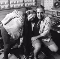 Claudia Brant Andres Suarez Songwriting session-Madrid (July)