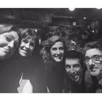 Claudia Brant, Gaby Gonzalez, Tamara Sardina, Cheche Alara, Nick Conti PandE Wing Grammy Week (February)