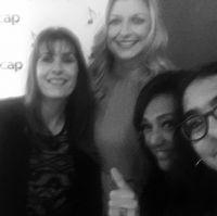 Gaby Gonzalez Ascap´s CEO, Beth Mathews, Claudia Brant, Nina Ascap Pop Awards (May)
