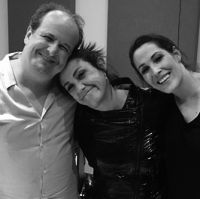 Julio Reyes Copello, Claudia Brant, Malú Session at Art House Miami (March)