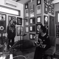 Maia and Priscilla Renea at the studio-Woodland Hills (March)