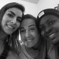 Maria Leon, Claudia Brant, Neff-u at the studio-Woodland Hills (May)