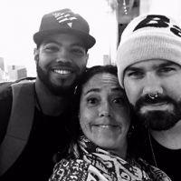 Mr.Paradise, Claudia Brant, Marcelinho Umpg Songcamp- Santa Monica (May)