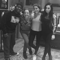 Neff-u, Claudia Brant, Maia, Hoops, Maia´s sessions at the studio-Woodland Hills (March)