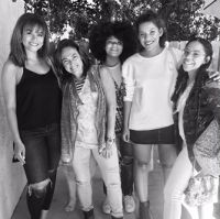 Sledge Grits, Claudia Brant at the studio-Woodland Hills (May)