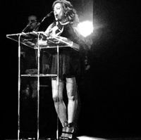 Claudia Brant induction acceptance speech Latin Songwriters Hall of Fame- Miami