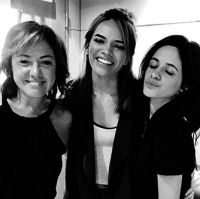 Claudia, Leslie Grace, Camila Cabello Vocal producing 5th Harmony Santa Monica