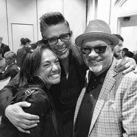 Claudia, Luis Enrique, Omar Alfanno Latin Grammy´s
