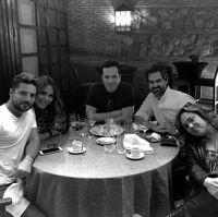 David Bisbal, Jeeve, Rodrigo Sangro Bisbal writing sessions-Madrid