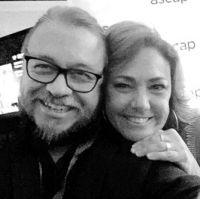 Fernando Osorio, Claudia Brant Ascap Latina Awards-Miami