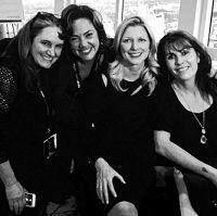 Lauren Lossa, Claudia, Beth Mathews, Gabriela Gonzalez Ascap Expo Los Angeles
