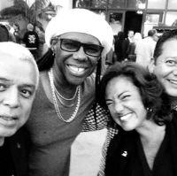 Nile Rodgers, Claudia Brant, Carlos Alvarez Spring NARAS trustees meetings- Palos Verdes