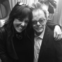 Claudia Brant, Paul Williams-ASCAP Grammy Winters Press Lunch, Los Angeles 2015