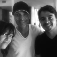 Claudia Brant, Richard Marx, Luis Fonsi-Writing session, Los Angeles 2015