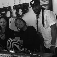 Jazmine V, Claudia Brant, Motesart-Brantones Records Studio, Los Angeles 2015