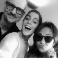 Mio Vukovic, Tini Stoessel, Claudia Brant-East West Studios 2015