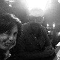 Claudia Brant, Andres Levin, Coreon Du-Recording Session, Los Angeles 2014