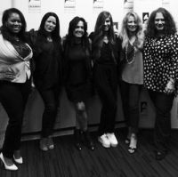 Makeba Woods, Lauren Christy, Claudia Brant, Christina Perri, Deana Carter-Songwriter's Hall of Fame Ladies night, Grammy Museum, Los Angeles 2014