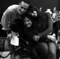 Sergio Aranda, Claudia Brant, Camila Cabello-Fifth Harmony session, Los Angeles 2014