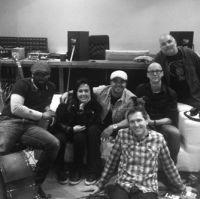Claudia Brant, Luis Fonsi, Martin Terefe, James Bryan-Making of Album Luis Fonsi 8, Kensaltown- London