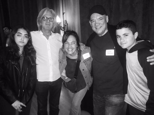Nina Brant, Jeff Greenberg, CB, Dave Merenda, Luca Brant. The Village Recorder. Feb 2018
