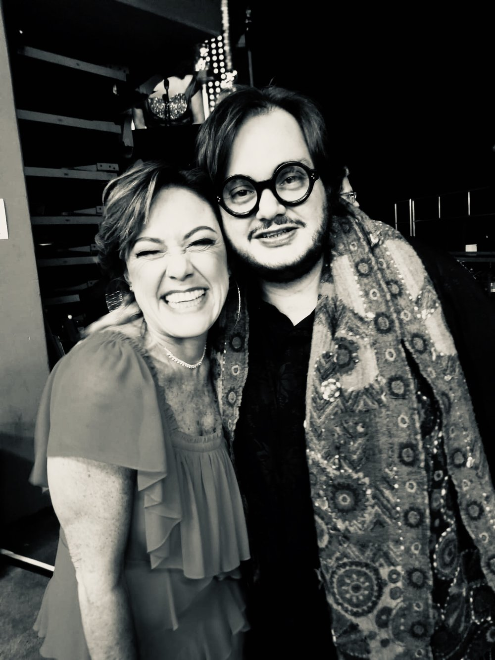 Claudia Brant and Yamandu Costa. Latin Grammys, Las Vegas 2018