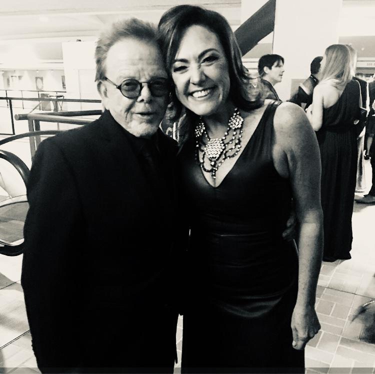 Paul Williams, Claudia Brant. LSHF Gala. Miami, octubre 2018