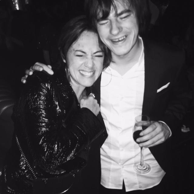 Claudia Brant, Nahuel Pennisi, Latin Grammys, Fiesta de Sony, Las Vegas noviembre 2018