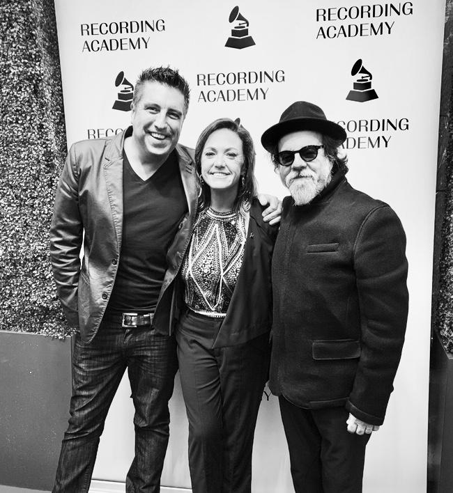 Cheche Alara, Claudia Brant, Moogie Canazio Grammy nominees reception, Los angeles - Feb 2019