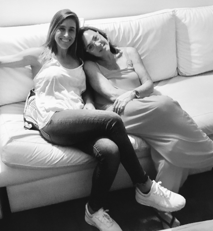 Soledad Pastorutti and Claudia Brant, writing session, Buenos Aires - Feb 2019