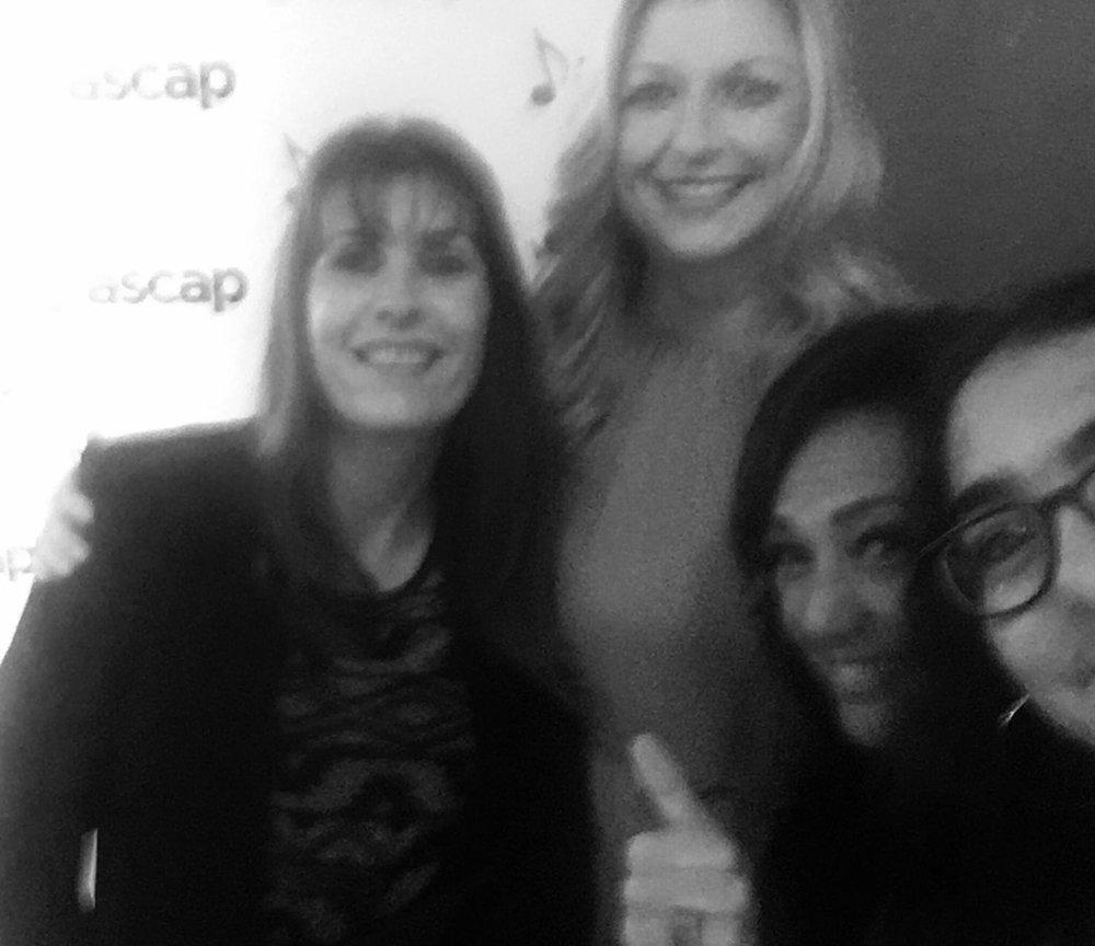 Gaby Gonzales Ascap's CEO, Beth Mathews, Claudia Brant, Nina, ASCAP Pop Awards