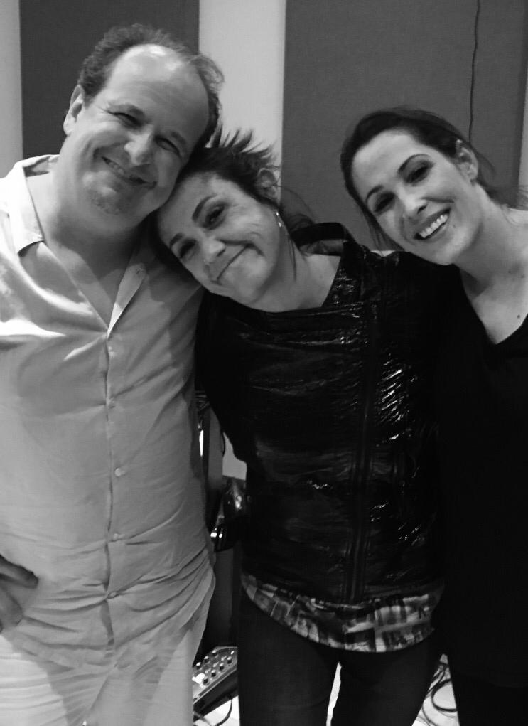 Julio Reyes Copello, Claudia Brant, Malú session at Art House Miami