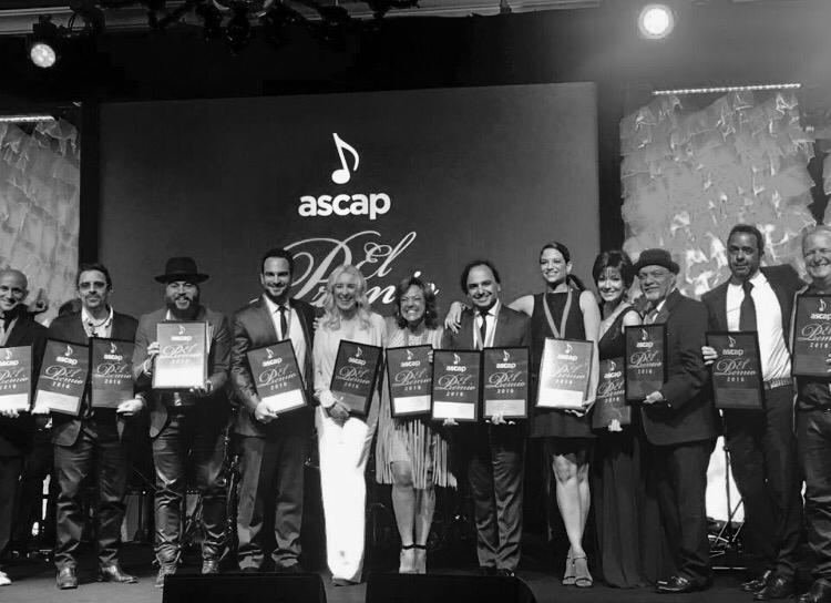 ASCAP Latina Awards winners. Miami