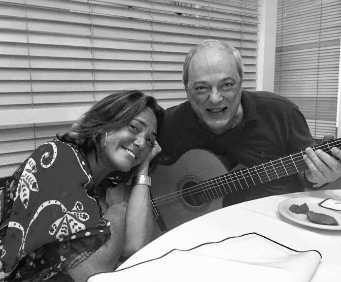 Claudia brant and Toquinho. Sao paulo