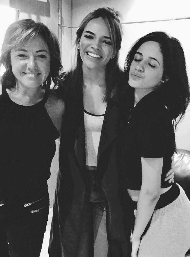 Claudia, Leslie Garcia, Camilla Cabellos. Vocal production 5th Harmony. Santa Monica