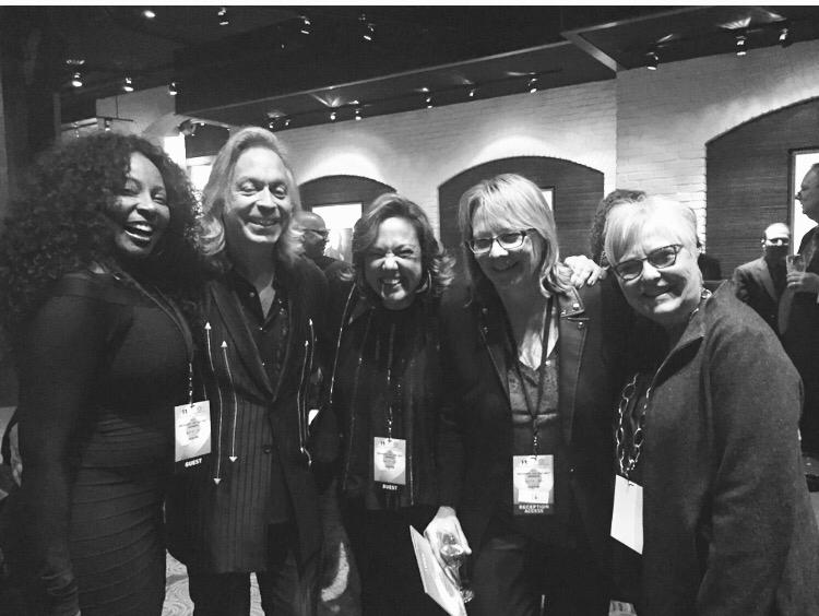 Amy Keys, Claudia, Cheryl Pawelsky, Lindsay Tomasic. Grammys on the Hill