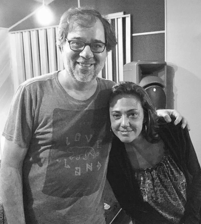 Dudu Falcao y Claudia brant. Rio de Janeiro