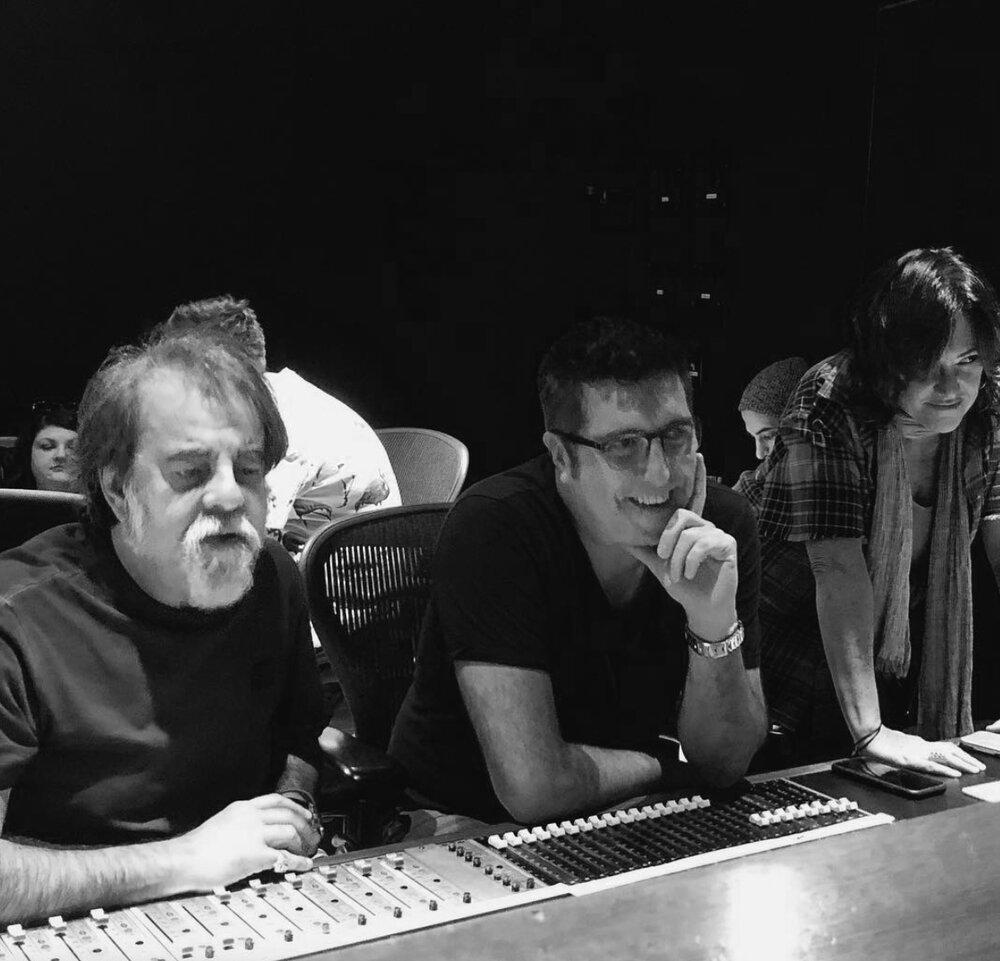 """Moogie Canazio, Cheche Alara y Claudia, """"Sincera"""" sesiones en EastWest Studios"""