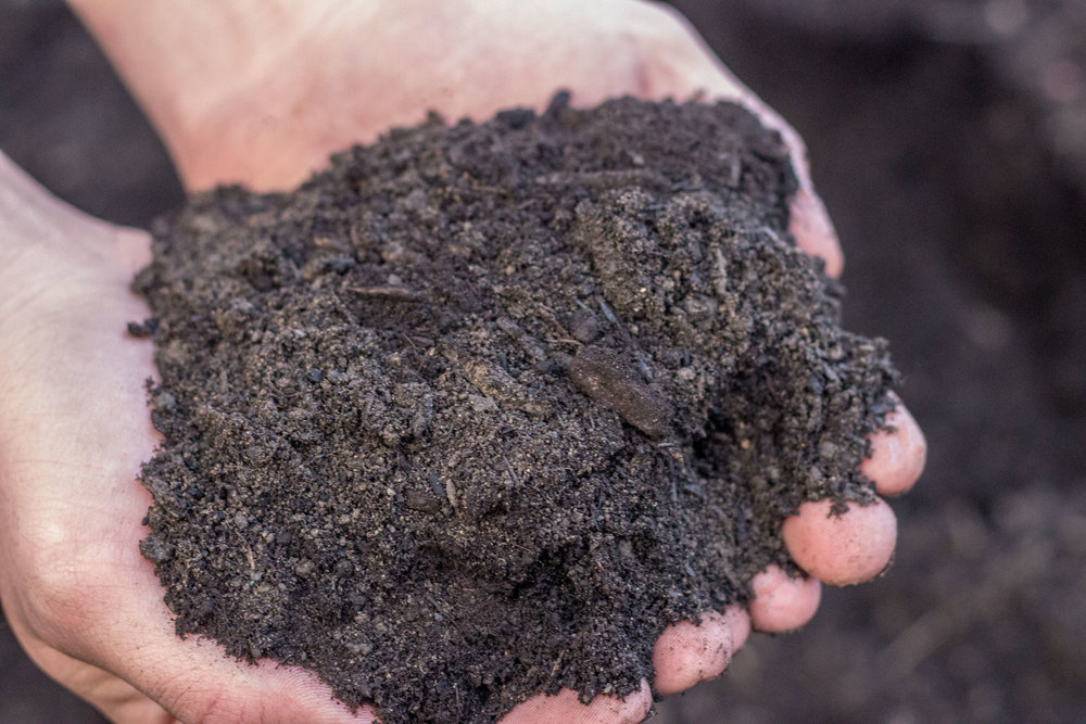50/50 - Topsoil and Compost blendAvailable at all locations