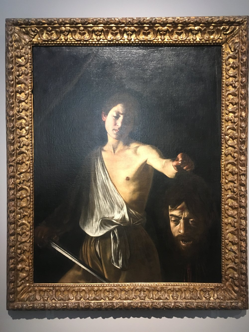 David with the Head of Goliath about 1609-10